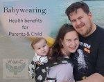 Babywearing Health Benefits Pic